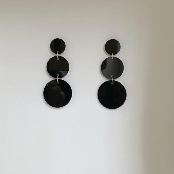 Tres circulos negro